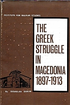 THE GREEK STRUGGLE IN MACEDONIA 1897-1913