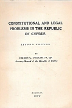 CONSTITUTIONAL AND LEGAL PROBLEMS IN THE REPUBLIC OF CYPRUS